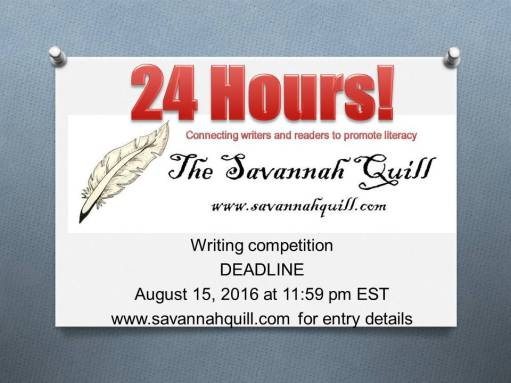 24 hours writing competition