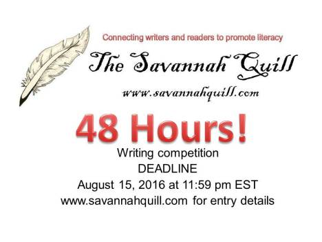 48 hours writing competition